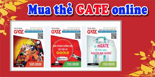 Mua thẻ gate online nhanh chóng dễ dàng cho game thủ ở Mỹ