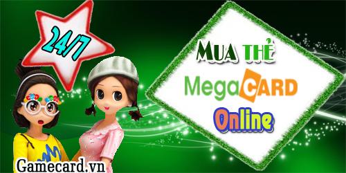 Mua thẻ megacard online