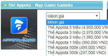Ở nước ngoài mua thẻ appota có đơn giản không?