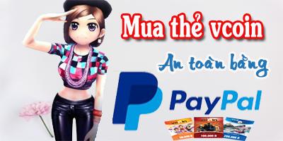 Thẻ Vcoin nạp game gì và cách mua thẻ vcoin bằng paypal