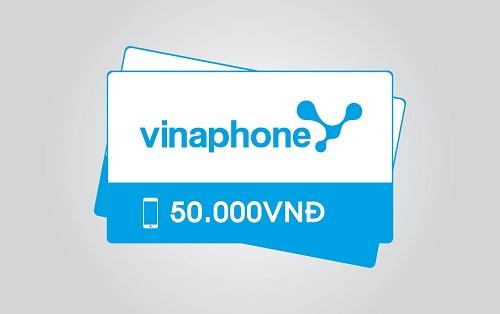Thẻ vinaphone - Tổng hợp các mệnh giá